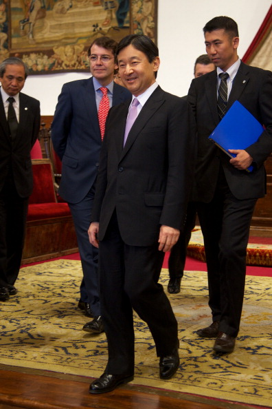 Japanese Royalty「Japanese Crown Prince Naruhito Visits Salamanca」:写真・画像(15)[壁紙.com]