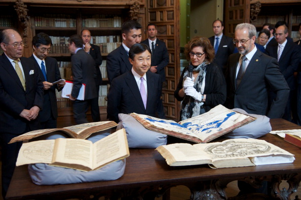 Japanese Royalty「Japanese Crown Prince Naruhito Visits Salamanca」:写真・画像(16)[壁紙.com]