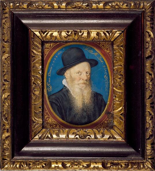 Blue Background「Elderly Man In A Black Hat」:写真・画像(18)[壁紙.com]