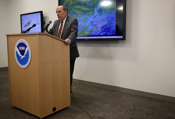 2016 Winter Storm Jonas「NOAA Holds News Conference On Impending Winter Storm On East Coast」:写真・画像(0)[壁紙.com]