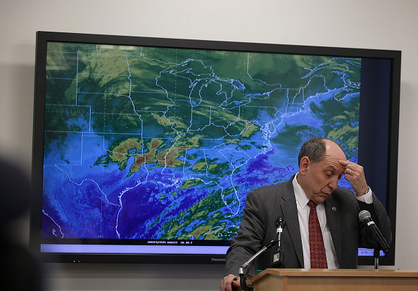 2016 Winter Storm Jonas「NOAA Holds News Conference On Impending Winter Storm On East Coast」:写真・画像(12)[壁紙.com]