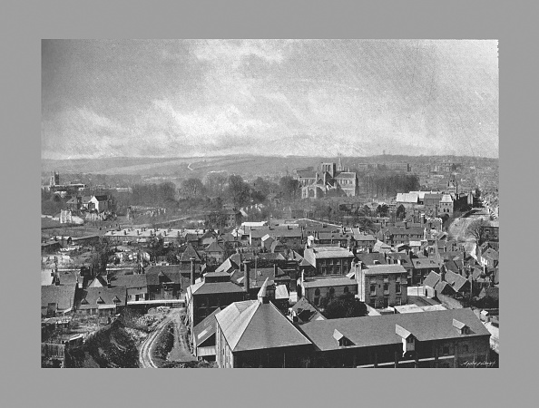 Copy Space「Winchester From Stgiles Hill, C1900」:写真・画像(4)[壁紙.com]