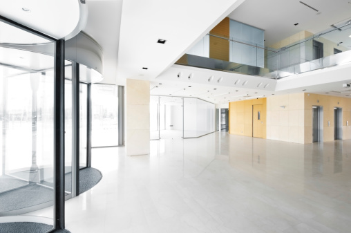 Elevator「ホールには、オフィスビル。」:スマホ壁紙(17)