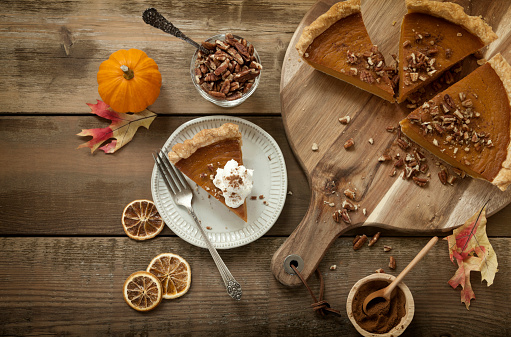 Nut - Food「Pumpkin Pie Background」:スマホ壁紙(13)