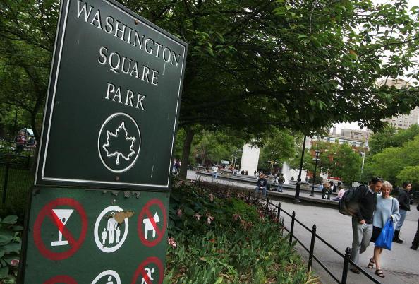 Washington Square Park「Planned Renovation Stirs Controversy At Famed New York Park」:写真・画像(15)[壁紙.com]
