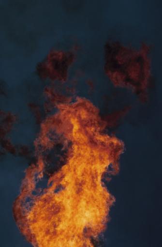 Fireball「Flames and night sky」:スマホ壁紙(13)