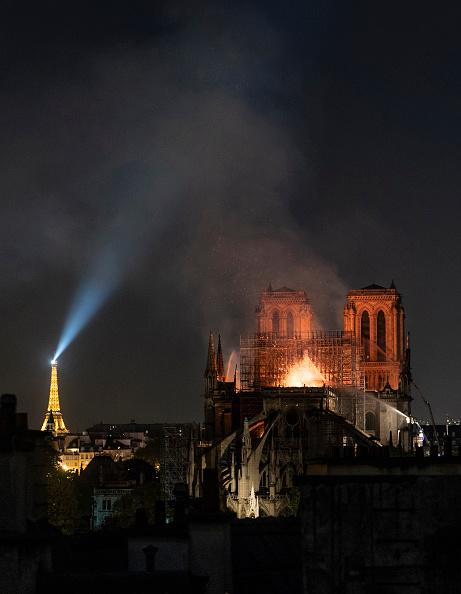 Notre Dame de Paris「Fire Breaks Out At Iconic Notre-Dame Cathedral In Paris」:写真・画像(13)[壁紙.com]