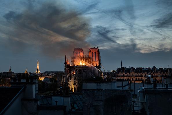 Notre Dame de Paris「Fire Breaks Out At Iconic Notre-Dame Cathedral In Paris」:写真・画像(5)[壁紙.com]