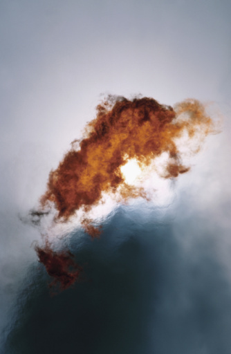 Fireball「Flames and smoke」:スマホ壁紙(0)