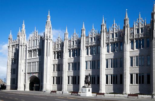 Scotland「The Facade of Marischal College Building, Aberdeen」:スマホ壁紙(7)
