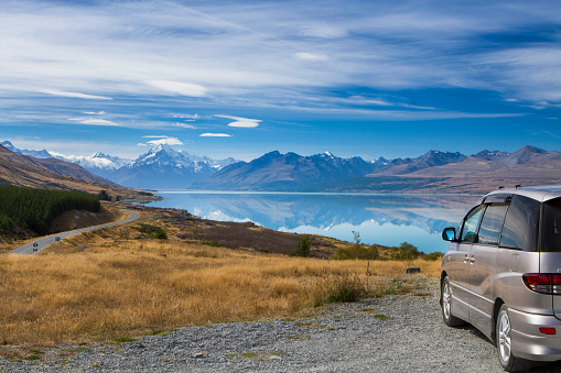 Mt Cook National Park「A drive thought Mount Cook park.」:スマホ壁紙(8)