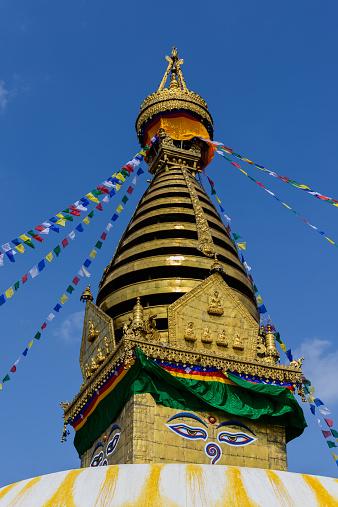 Bunting「The Buddhist stupa of Boudhanath, Kathmandu, Nepal」:スマホ壁紙(19)