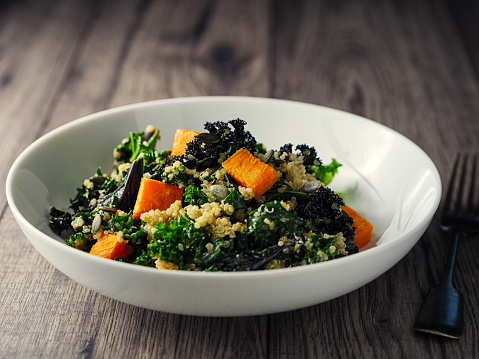 Vinaigrette Dressing「quinoa and kale salad with roasted sweet potatoes」:スマホ壁紙(17)