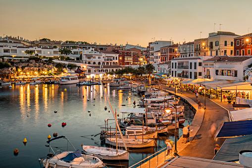 Bay of Water「Es Castells town in Menorca」:スマホ壁紙(5)
