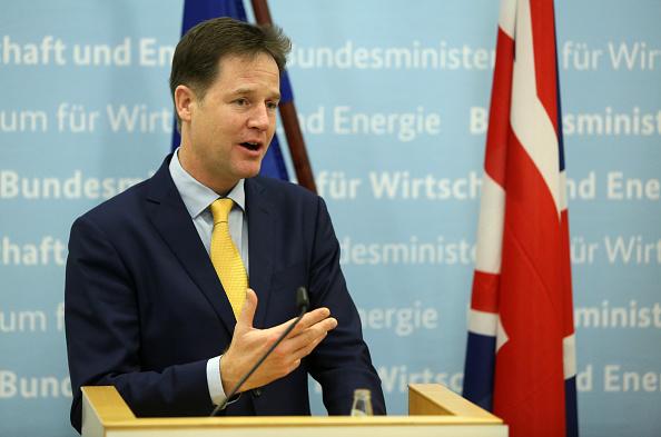 Corporate Business「British Deputy PM Nick Clegg In Berlin For Talks」:写真・画像(1)[壁紙.com]