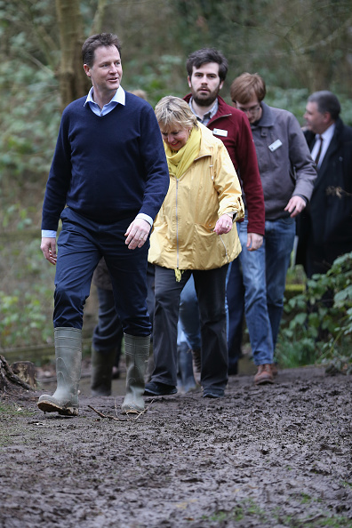 ハリネズミ「Nick Clegg Visiting The Parkridge Wildlife Centre On The Campaign Trail」:写真・画像(15)[壁紙.com]
