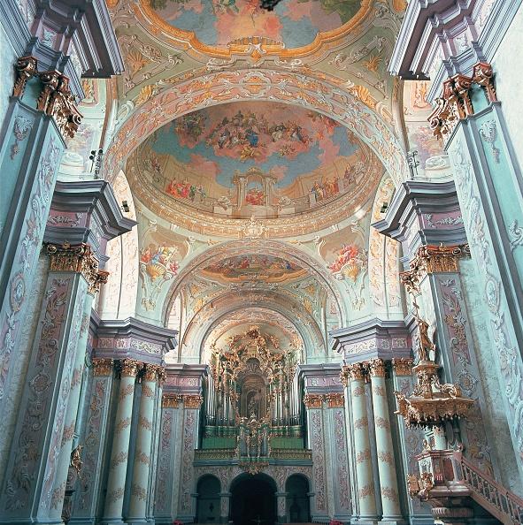20-24 Years「Interior view of the collegiate church Herzogenbur」:写真・画像(16)[壁紙.com]