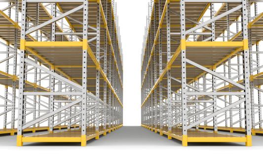 Rack「Empty Warehouse」:スマホ壁紙(7)