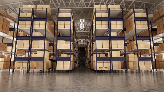 ������「Empty Warehouse Full of Cargo」:スマホ壁紙(10)