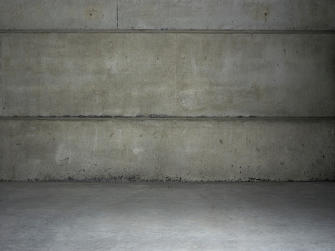 Concrete「Empty warehouse wall」:スマホ壁紙(15)