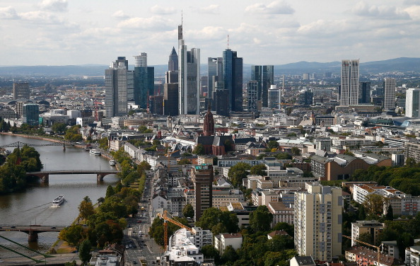 Urban Skyline「New ECB Headquarters Construction Continues」:写真・画像(17)[壁紙.com]