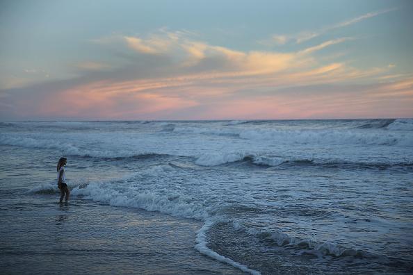 Beach「Carolinas Prepare As Hurricane Florence Approaches As Category 4 Storm」:写真・画像(11)[壁紙.com]