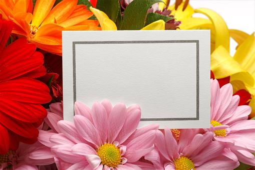 母の日「空白の母の日カード」:スマホ壁紙(2)