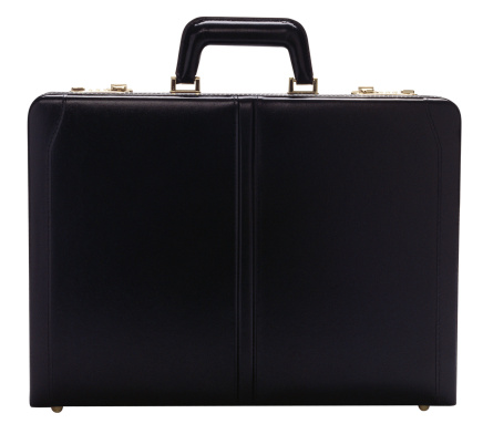 Business「Front view of briefcase」:スマホ壁紙(1)