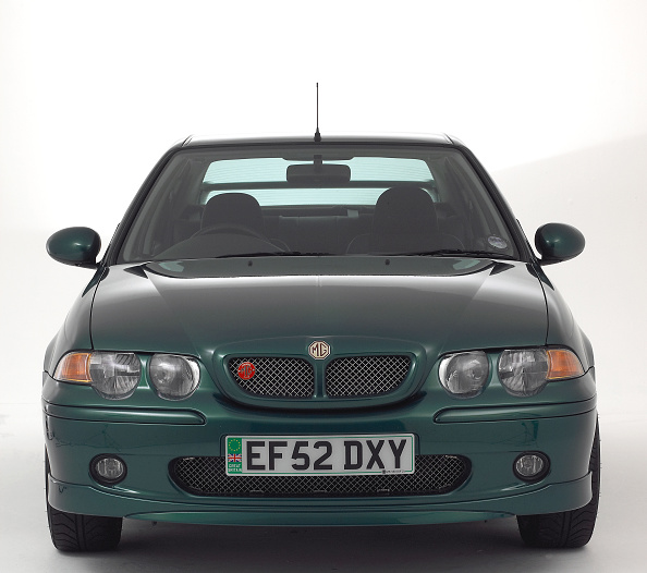 カットアウト「2002 MG ZS V6」:写真・画像(10)[壁紙.com]
