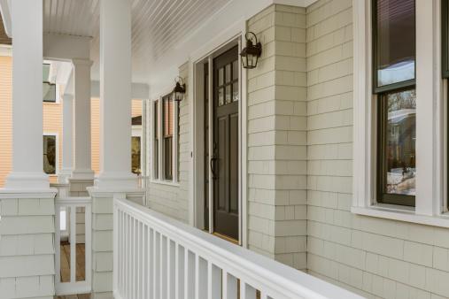 Front Door「Front view of new custom home」:スマホ壁紙(18)