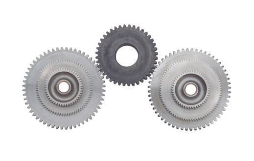 Interlocked「Front view of interlocking gear wheels」:スマホ壁紙(19)