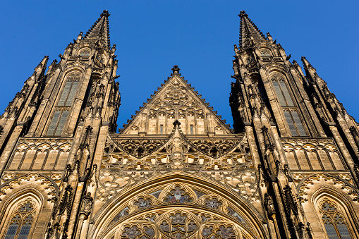 St Vitus's Cathedral「Front view of St Vitus Cathedral」:スマホ壁紙(1)