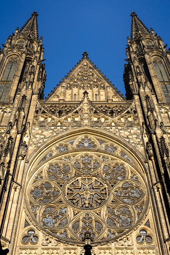 St Vitus's Cathedral「Front view of St Vitus Cathedral」:スマホ壁紙(2)