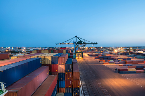 West Flanders「Zeebrugge Port. Belgium」:スマホ壁紙(5)