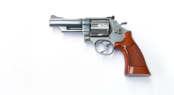 Handgun「44 Magnum hand gun with copy space」:スマホ壁紙(16)