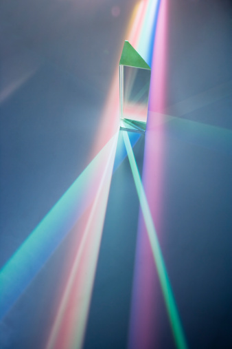 Glass - Material「Glass prism with spectrum colours」:スマホ壁紙(3)