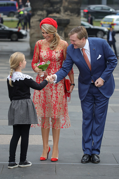 Trier「King Willem-Alexander and Queen Maxima of The Netherlands Visit Germany」:写真・画像(19)[壁紙.com]