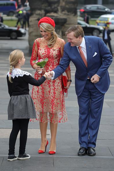 Netherlands「King Willem-Alexander and Queen Maxima of The Netherlands Visit Germany」:写真・画像(11)[壁紙.com]