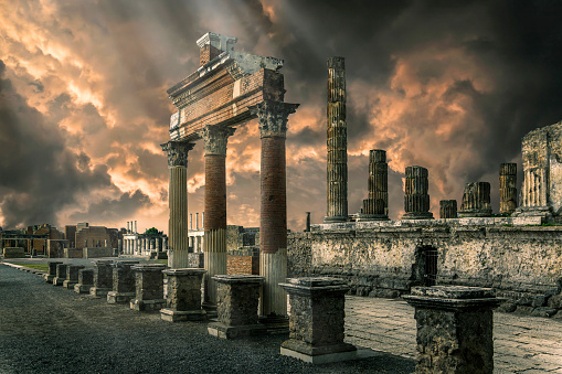 UNESCO「Pompeii ruins, The Forum.」:スマホ壁紙(3)
