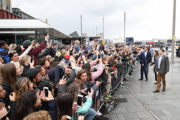 The Duke And Duchess Of Sussex Visit New Zealand - Day 3:ニュース(壁紙.com)