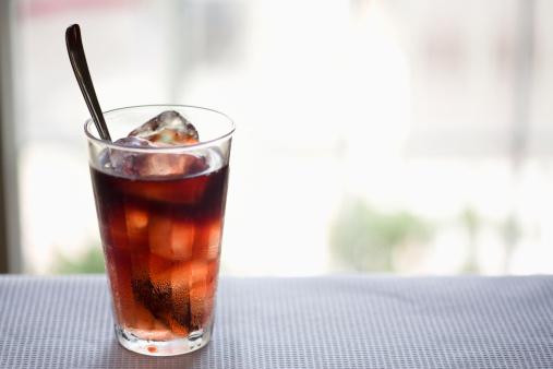 コーヒー「Iced coffee」:スマホ壁紙(6)