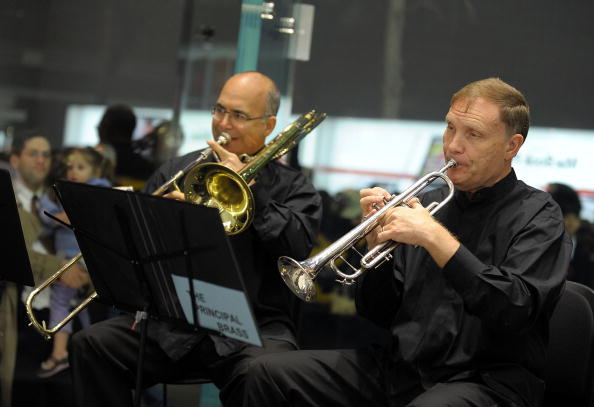 トランペット「Holiday Performance Of The New York Philharmonic Principal Brass Quintet」:写真・画像(7)[壁紙.com]