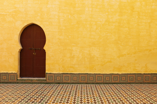 North Africa「Tomb of Moulay Ismail, Meknes, Morocco」:スマホ壁紙(9)
