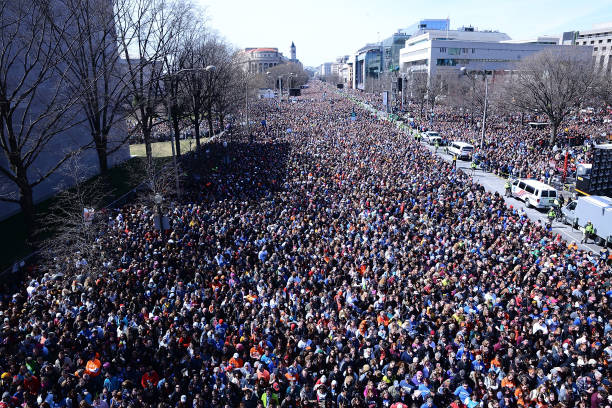 Celebrities Attend March For Our Lives Rally In Washington, DC:ニュース(壁紙.com)