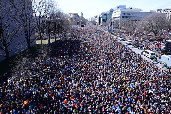 Washington DC「Celebrities Attend March For Our Lives Rally In Washington, DC」:写真・画像(15)[壁紙.com]
