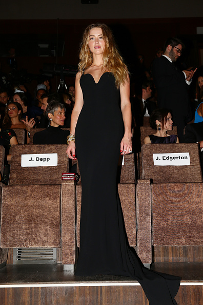 Bustier Dress「'Black Mass' Premiere - 72nd Venice Film Festival」:写真・画像(11)[壁紙.com]
