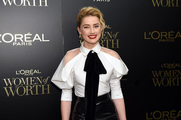 Amber Heard「14th Annual L'Oréal Paris Women Of Worth Awards」:写真・画像(9)[壁紙.com]