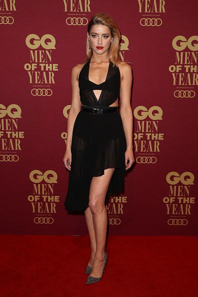 Amber Heard「GQ Men Of The Year Awards - Red Carpet」:写真・画像(6)[壁紙.com]