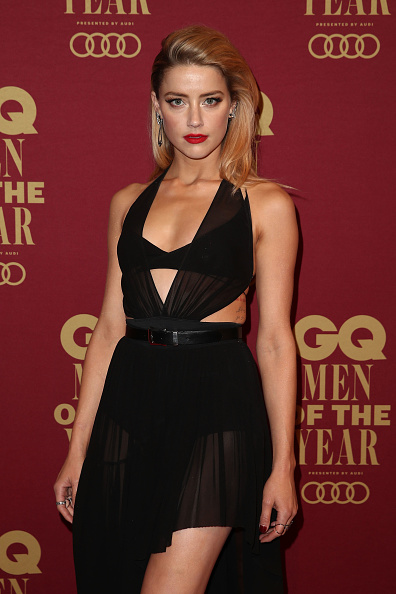 Amber Heard「GQ Men Of The Year Awards - Red Carpet」:写真・画像(17)[壁紙.com]