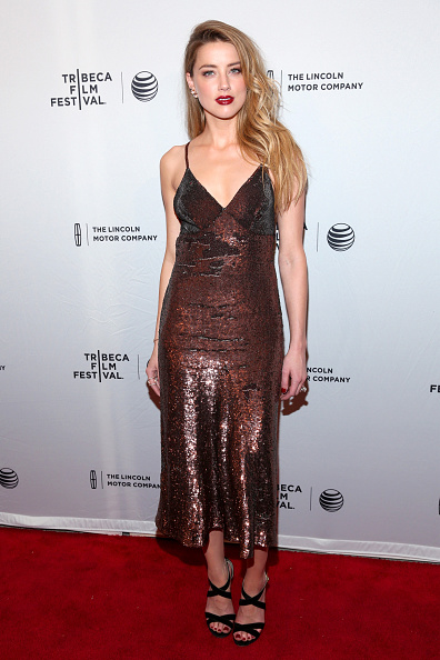 Amber Heard「'When I Live My Life Over Again' Premiere - 2015 Tribeca Film Festival」:写真・画像(7)[壁紙.com]